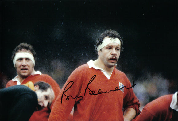 Bill Beaumont - Lions - 12 x 8 Autographed Picture