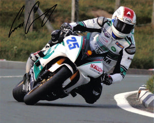 Conor Cummins - Bungalow - TT 2007 - 16 x 12 Autographed Picture