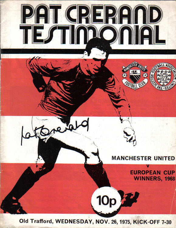 Manchester United v Celtic - Paddy Crerand - Testimonial Programme