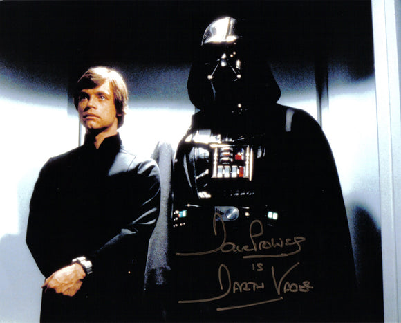 Dave Prouse - Darth Vader - Star Wars - 10 x 8 Autographed Picture