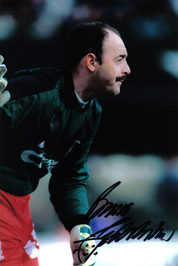 Bruce Grobbelaar - Liverpool - 12 x 8 Autographed Picture