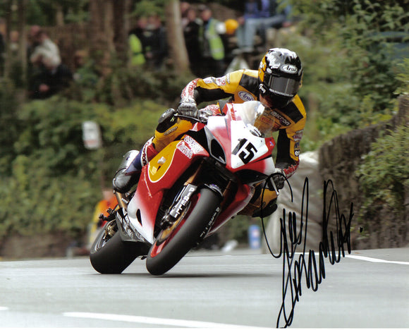Guy Martin - Union Mills - TT 2005 - 16 x 12 Autographed Picture