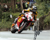 Guy Martin - Union Mills - TT 2005 - 10 x 8 Autographed Picture