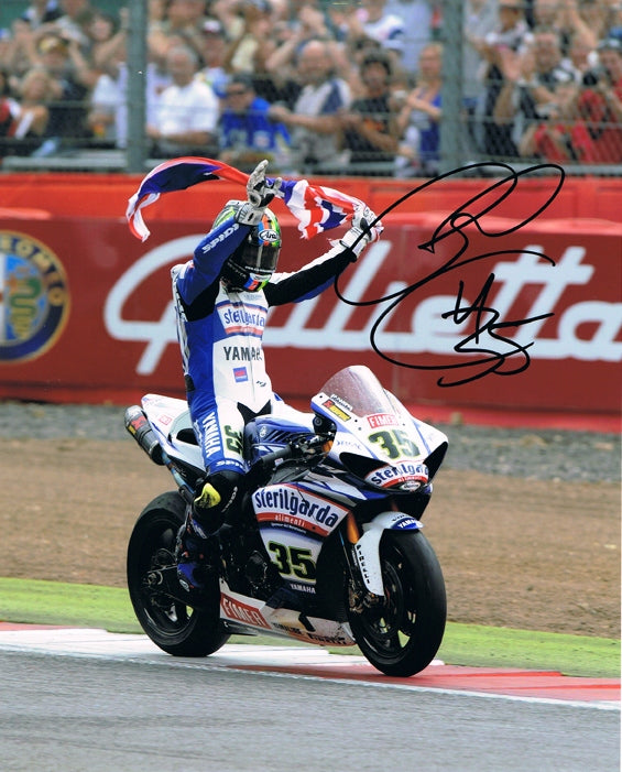 Cal Crutchlow - World Superbikes- 16 x 12 Autographed Picture