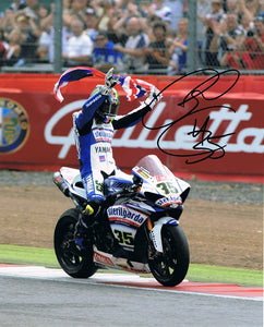 Cal Crutchlow - World Superbikes - 10 x 8 Autographed Picture
