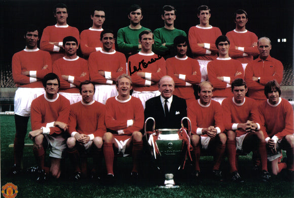 Paddy Crerand - Manchester United - 12 x 8 Autographed Picture