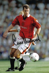 Gary Pallister - Manchester United - 12 x 8 Autographed Picture