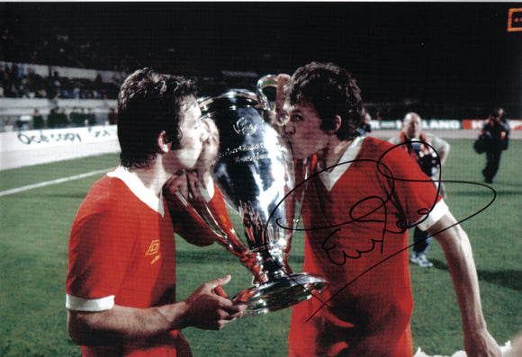Phil Neal - Liverpool F.C. - European Champion - 12 x 8 Autographed Picture