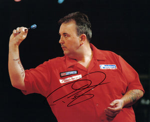 "Phil ""The Power"" Taylor - 16 x 12 - Autographed Picture"