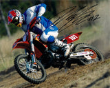 David Knight - World Enduro Champion - KTM 3 - 12 x 8 Autographed Picture