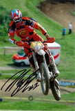 David Knight - World Enduro Champion - KTM 1 - 16 x 12 Autographed Picture
