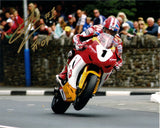 Gary Johnson - St Ninians - TT 2009 - 10 x 8 Autographed Picture