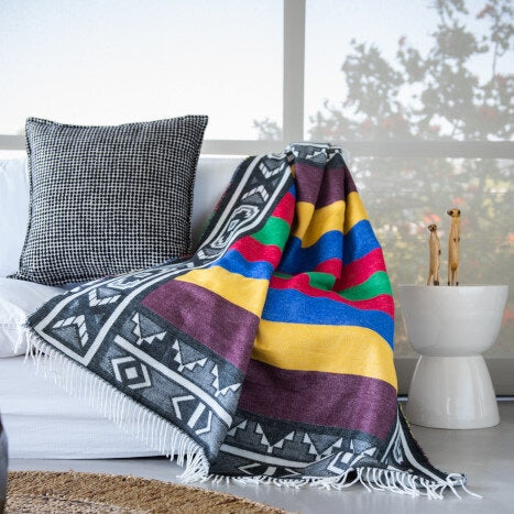 Throw | Wrap - Ndebele Beads