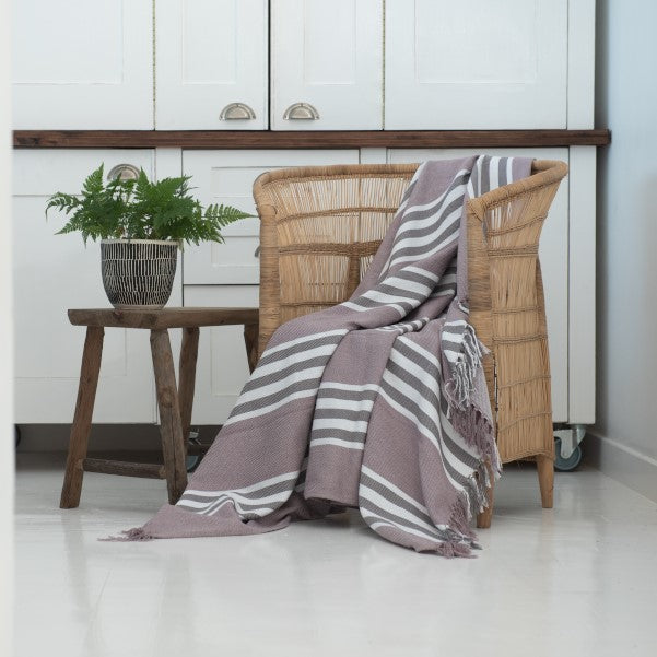 Protea Pin Stripe - Shoreline
