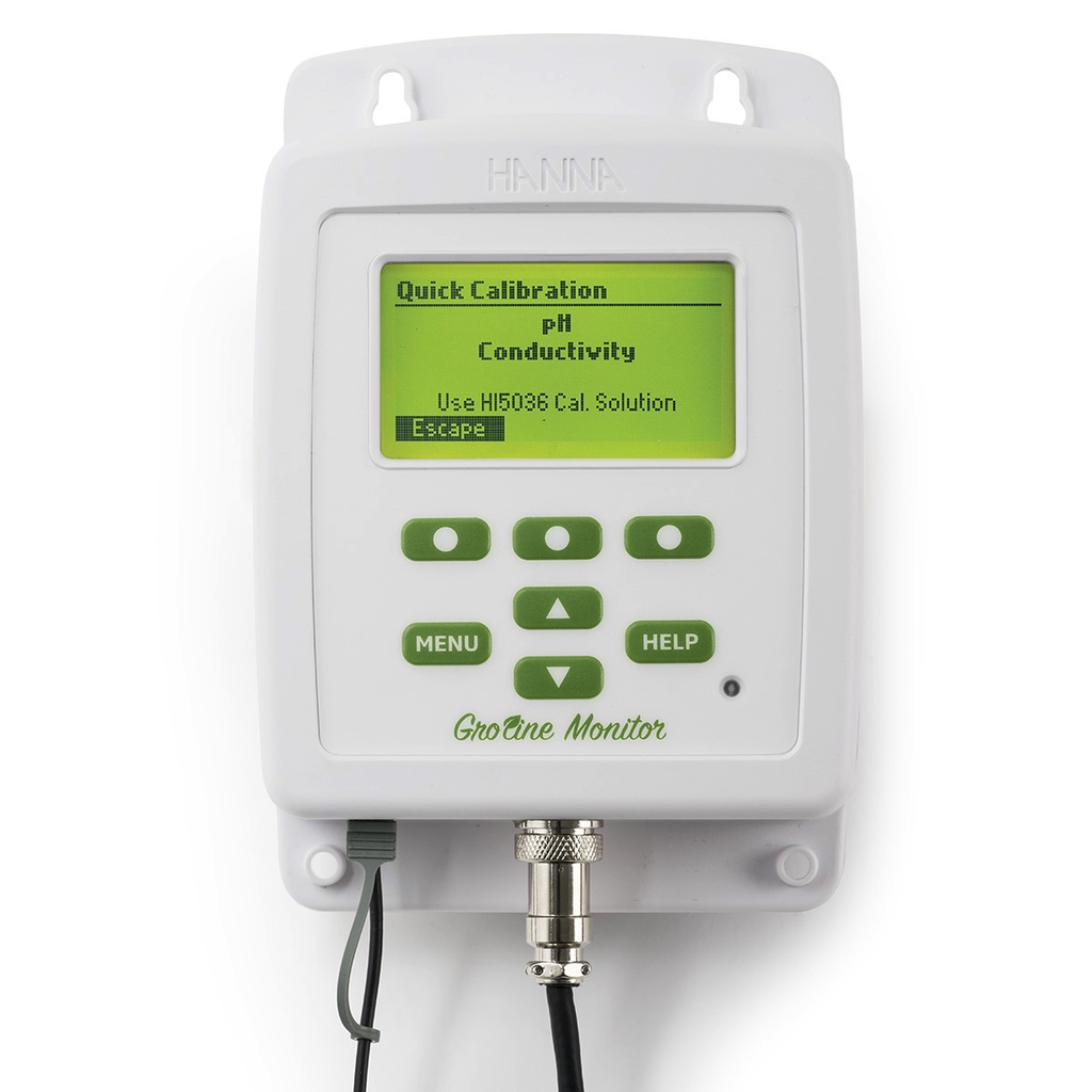 GroLine Monitor for Hydroponic Nutrients