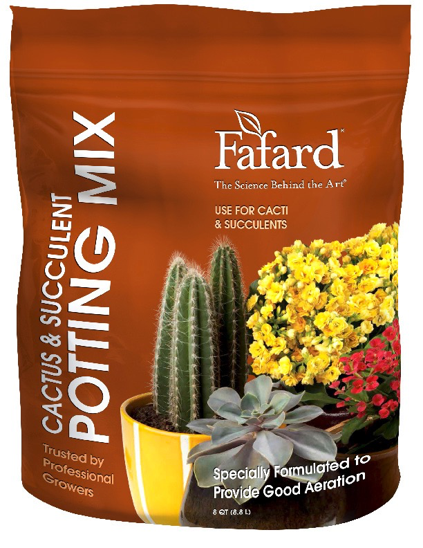 FAFARD® CACTUS & SUCCULENT POTTING MIX 8QT