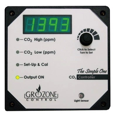 Grozone SCO2 - Single output CO2 Controller 0-5000 ppm