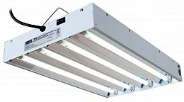 EnviroGro T5 2FT- 4 Tube Fixture w/bulbs