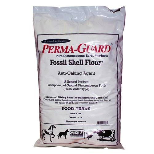 Perma Guard Diatomaceous Earth Fossil Shell Flour Food Grade 50 lb