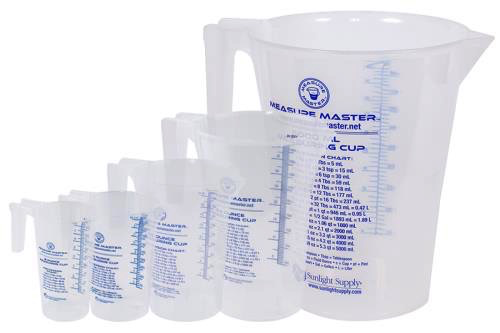 Measure Master Graduated Round Container 16