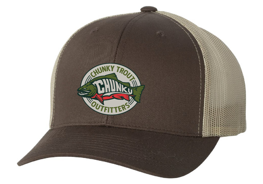 ! Brown Trout CTO Snapback Hat