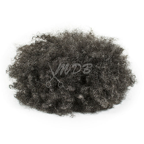Afro Curl- Black/ 30% grey