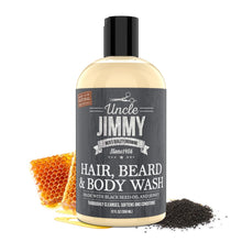 Load image into Gallery viewer, Uncle Jimmy Hair, Beard & Body Wash