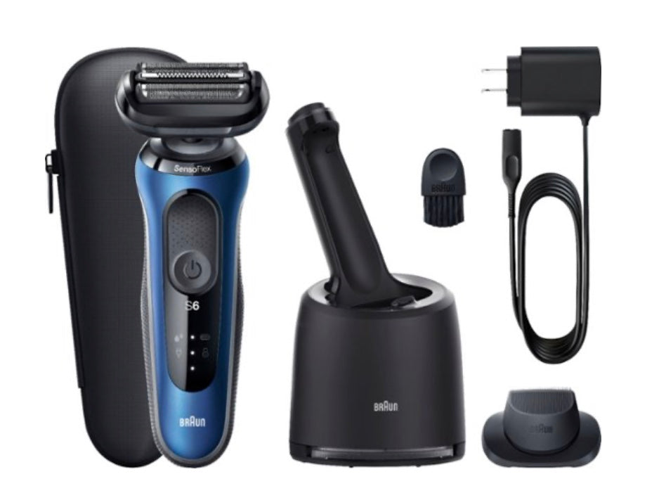 Series 6 SensoFlex Self Cleaning Shaver