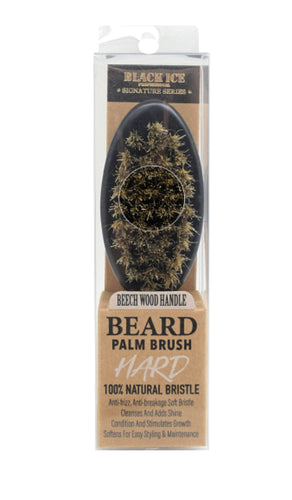Black Ice Beard Brush