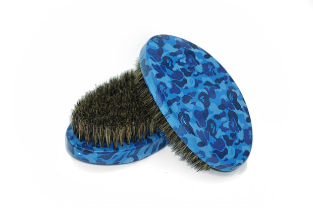 Blue Camo Brush