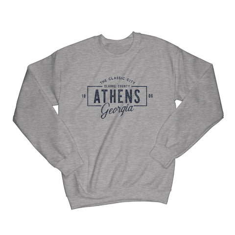 Athens Vintage Badge Sweatshirt
