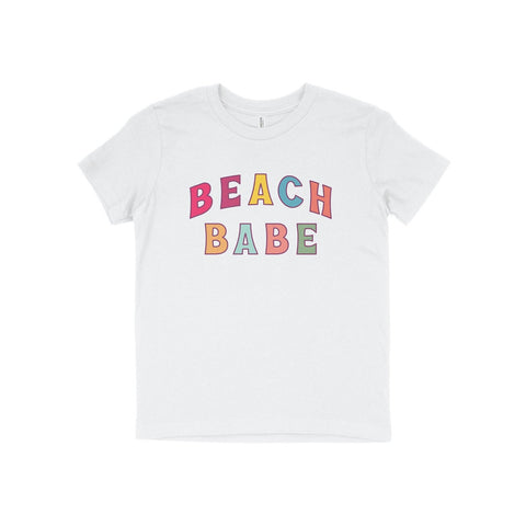 Toddler Beach Babe Tee