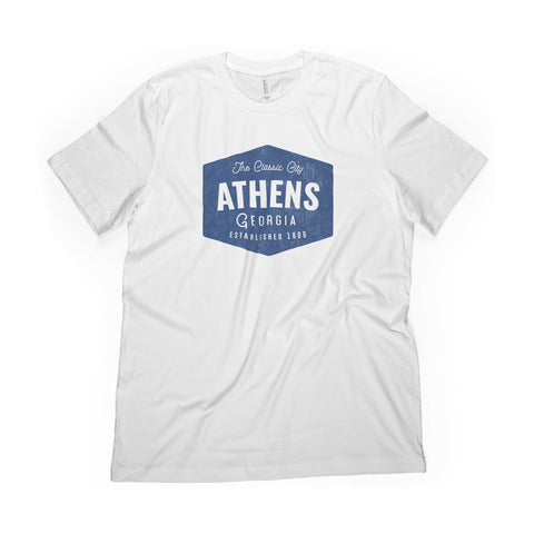 Vintage Athens Badge Tee