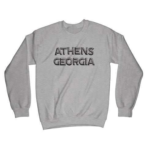 Distressed Athens Georgia Sweatshirt