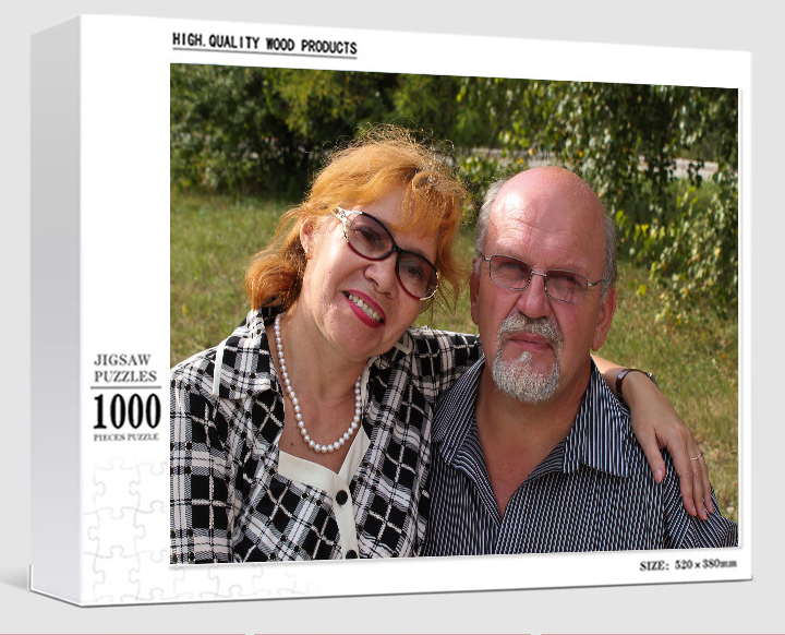 Custom Photo Jigsaw Puzzle, Personalized Gift for Family Jigsaw, Picture Puzzle for Your Memory, Valentines Day DIY Gift Ideas For Couple