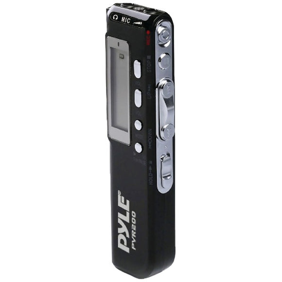 Pyle PVR200 Digital Voice Recorder with 4GB Built-in Memory