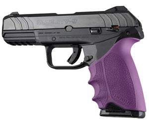 Hogue 17706 Handall Beavertail Grip Sleeve Ruger Security 9 Purple