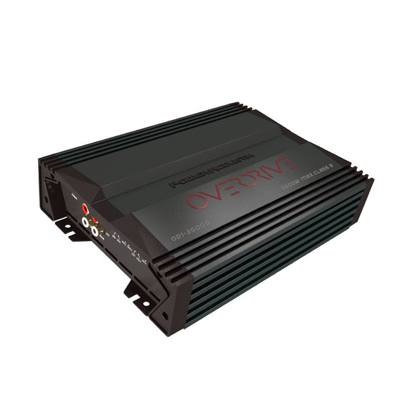 Power  Acoustik OD13500D 3500 Max Watt D Class Amplifier