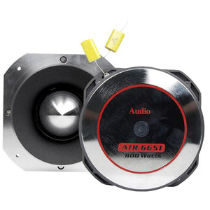 "Audiopipe ATR6651 4"" 800 Watt Heavy Duty Titanium Super Tweeter"
