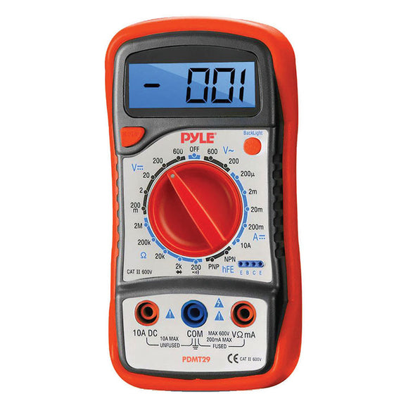 Pyle PDMT29 digital multimeter