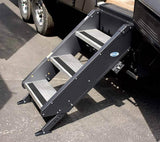 "Morryde STP32705H Fold Up Entry Step Tall 3 Step 26-28"" Door"