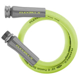 Flexzilla HFZG503YW Garden Lead In Hose 5/8In X 3Ft 3/4In   11 1/2 Ght Fittings