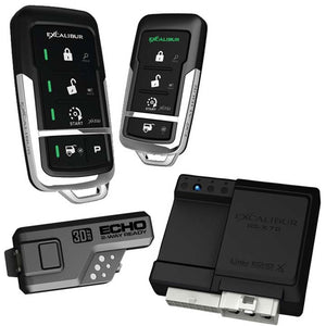 Excalibur RS4753D 900Mhz Led 2-Way  Keyless Entry & Remote Start (Linkr Ready)