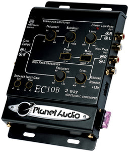Planet Audio EC10B 2 Way Electronic Crossover