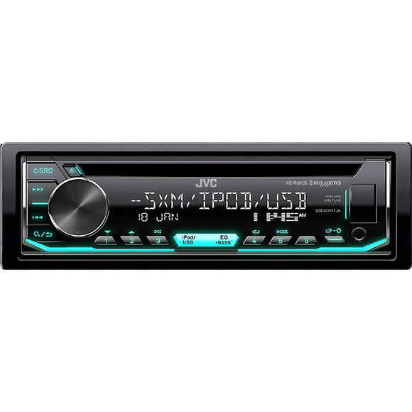 JVC KDR690S AM / FM / CD / Bluetooth /  USB / AUX input
