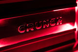 Crunch Ground Pounder 2 X 325 @ 4 Ohms 2 X 750 @ 2 Ohms 1 X 1500 Watts @ 4 Ohms Bridged