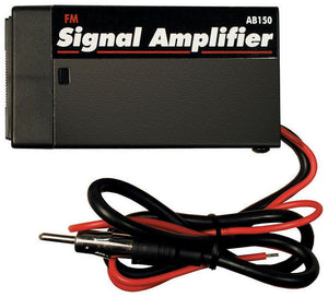 Car Boat RV Radio Stereo FM AM Antenna Signal Booster Amplifier