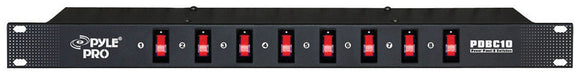 Pyle PDBC10 Rack Mount power Distribution