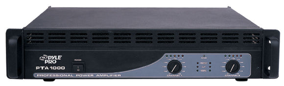 Pyle PTA1000 1000 Watts Professional Power Amplifier