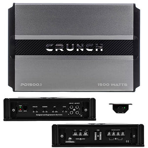 Crunch PD 1500.1 Power Drive Monoblock Amplifier 1500 Watts